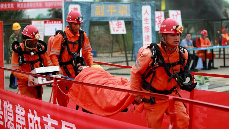 矿山救护队员